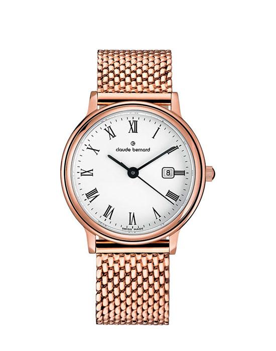 96c9a510 Часы Claude Bernard 54005-37RMBR - купить женские наручные часы в ...