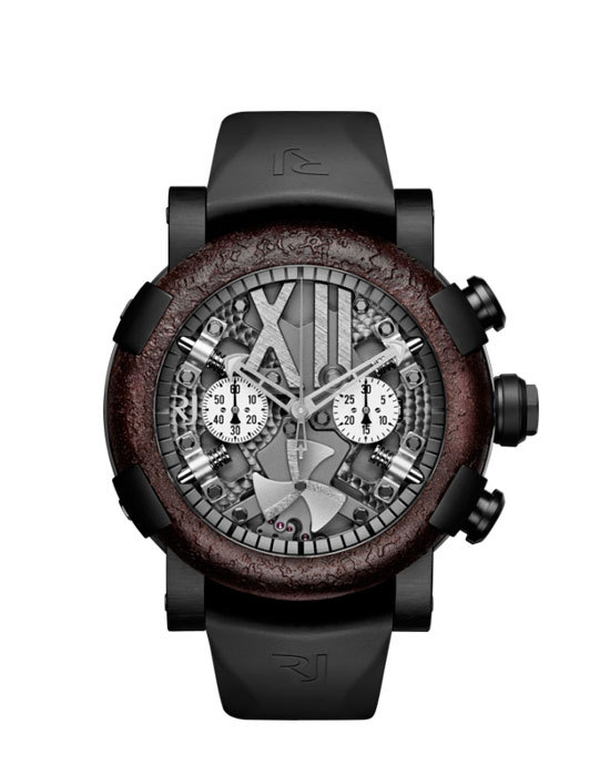 Romain Jerome RJ.T.CH.SP.002.02 Steampunk 100th Anniversary Chrono PVD Watch