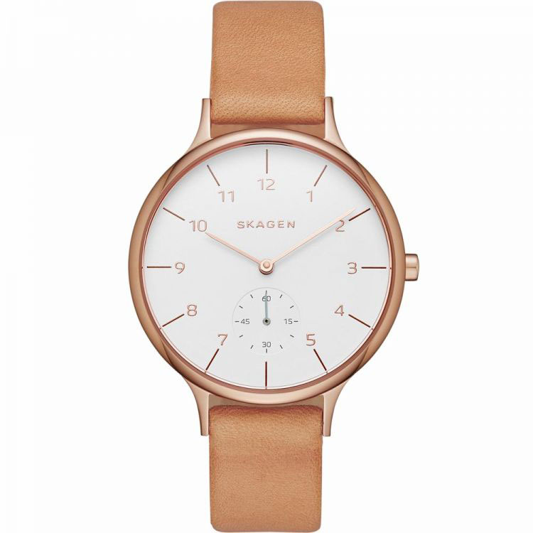 Женские часы Skagen SKW2412 Мужские часы Oris 733-7670-40-51LS