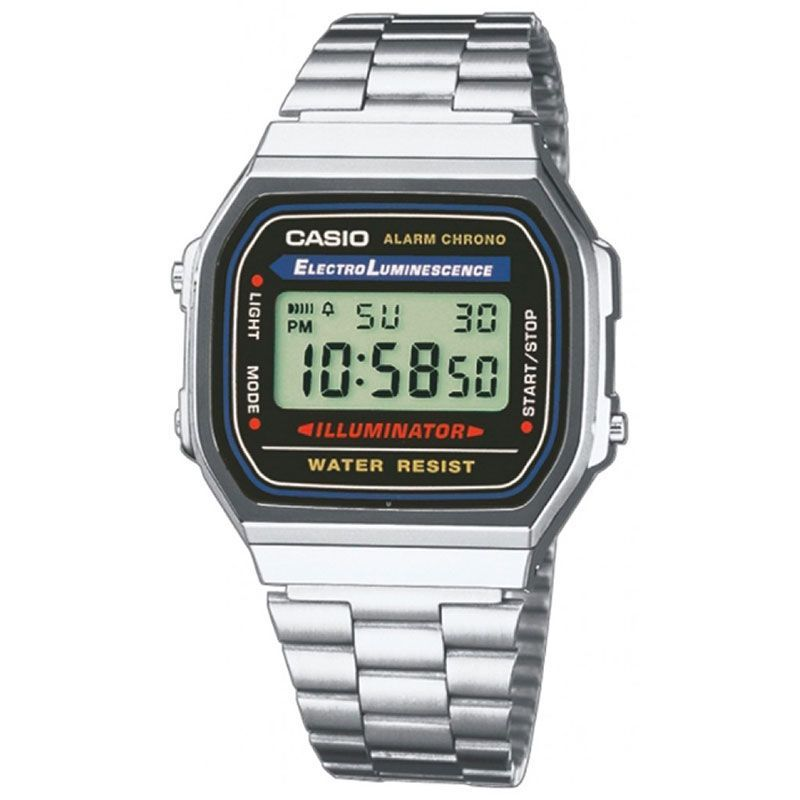 Часы Casio Digital A-168WA-1