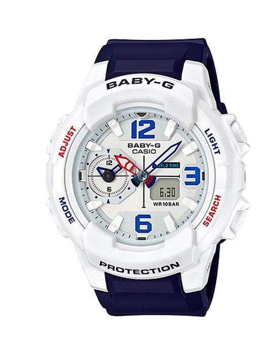Женские часы Casio BGA-230SC-7B Мужские часы Seiko SSE063J1