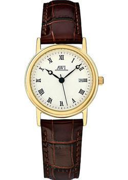 цена AWI Часы AWI AW1513B. Коллекция Classic онлайн в 2017 году