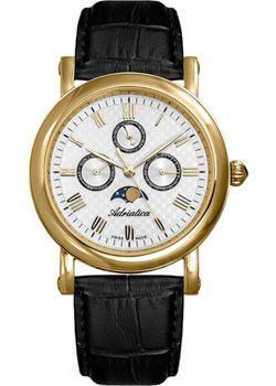 цена  Adriatica Часы Adriatica 1023.1233QF. Коллекция Multifunction  онлайн в 2017 году