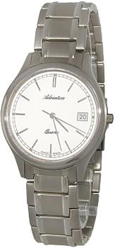 где купить  Adriatica Часы Adriatica 1046.4113Q. Коллекция Titanium  по лучшей цене