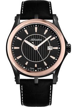 лучшая цена Adriatica Часы Adriatica 1094.K214Q. Коллекция Gents