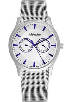 Adriatica Часы Adriatica 1100.51B3QF. Коллекция Multifunction adriatica часы adriatica 3129 1153q коллекция ladies