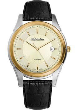 Adriatica Часы Adriatica 1116.2211Q. Коллекция Gents Leather гладильная система hotpoint ariston sg c 11 ckg