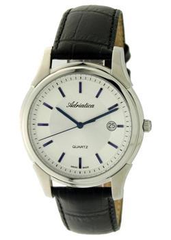 купить Adriatica Часы Adriatica 1116.52B3Q. Коллекция Gents по цене 10000 рублей