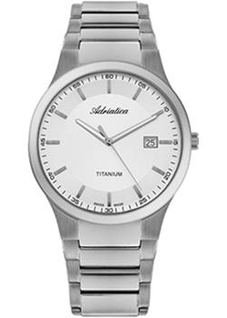 цена Adriatica Часы Adriatica 1145.4113Q. Коллекция Titanium онлайн в 2017 году