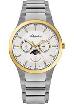 Adriatica Часы Adriatica 1145.6113QF. Коллекция Titanium цена и фото