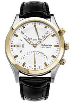 Adriatica Часы Adriatica 1191.2213CH. Коллекция Twin adriatica часы adriatica 3173 1251q коллекция twin