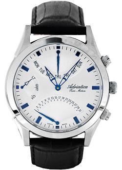 Adriatica Часы Adriatica 1191.52B3CH. Коллекция Twin adriatica часы adriatica 3176 1111q коллекция twin