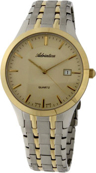 Adriatica Часы Adriatica 1236.2111Q. Коллекция Twin akita