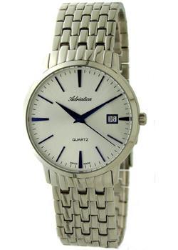 Adriatica Часы Adriatica 1243.51B3Q. Коллекция Twin Motion adriatica часы adriatica 3156 5116q коллекция twin