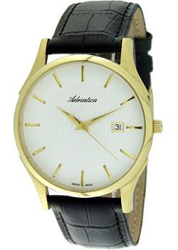 купить Adriatica Часы Adriatica 1246.1213Q. Коллекция Gents по цене 9200 рублей