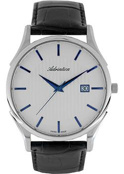 цена Adriatica Часы Adriatica 1246.52B3Q. Коллекция Gents в интернет-магазинах
