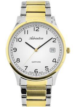 Adriatica Часы Adriatica 1267.2123Q. Коллекция Twin adriatica часы adriatica 3143 2113q коллекция twin