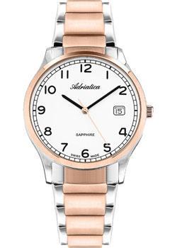 Adriatica Часы Adriatica 1267.R123Q. Коллекция Twin adriatica часы adriatica 3143 2113q коллекция twin