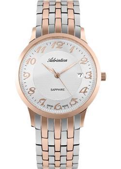 Adriatica Часы Adriatica 1268.R123Q. Коллекция Twin adriatica часы adriatica 3143 2113q коллекция twin
