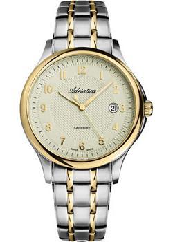 Adriatica Часы Adriatica 1272.2121Q. Коллекция Twin adriatica часы adriatica 3176 1111q коллекция twin