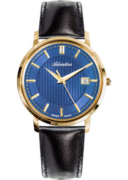 Adriatica Часы Adriatica 1277.1215Q. Коллекция Pairs adriatica часы adriatica 3143 2113q коллекция twin
