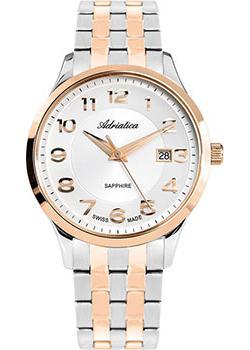 Adriatica Часы Adriatica 1278.R123Q. Коллекция Twin adriatica часы adriatica 3143 2113q коллекция twin