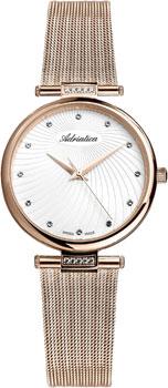 где купить  Adriatica Часы Adriatica 3689.9143QZ. Коллекция Zirconia  по лучшей цене