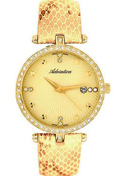 Adriatica Часы Adriatica 3695.1241QZ. Коллекция Zirconia adriatica часы adriatica 3638 1173q коллекция zirconia