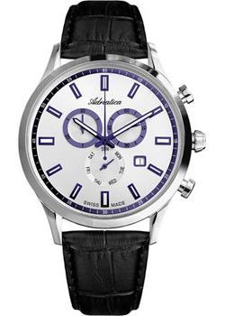 Adriatica Часы Adriatica 8150.52B3CH. Коллекция Chronograph цена и фото