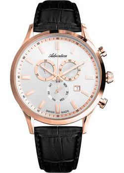 Adriatica Часы Adriatica 8150.9213CH. Коллекция Chronograph цена и фото