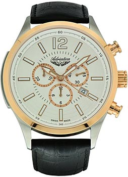 Adriatica Часы Adriatica 8188.R253CH. Коллекция Chronograph цена и фото