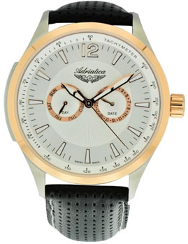 Adriatica Часы Adriatica 8189.R253QF. Коллекция Multifunction