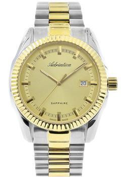 цена Adriatica Часы Adriatica 8210.2111Q. Коллекция Gents онлайн в 2017 году