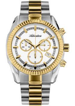 Adriatica Часы Adriatica 8210.2113CH. Коллекция Chronograph цена и фото