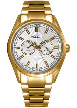 Adriatica Часы Adriatica 8211.1113QF. Коллекция Multifunction adriatica часы adriatica 3143 2113q коллекция twin