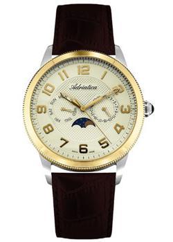 Adriatica Часы Adriatica 8238.2221QF. Коллекция Multifunction adriatica часы adriatica 3143 2113q коллекция twin