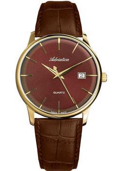 Adriatica Часы Adriatica 8242.121GQ. Коллекция Gents Leather шрамы 3d blu ray
