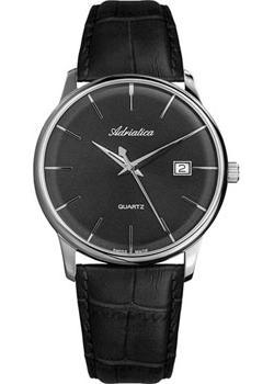 цена Adriatica Часы Adriatica 8242.5216Q. Коллекция Gents Leather онлайн в 2017 году