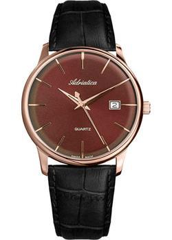 цена Adriatica Часы Adriatica 8242.921GQ. Коллекция Gents Leather онлайн в 2017 году