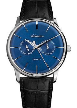 Adriatica Часы Adriatica 8243.5215QF. Коллекция Gents Leather adriatica часы adriatica 3156 5116q коллекция twin