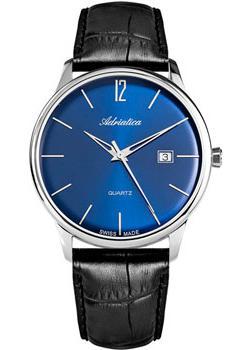Adriatica Часы Adriatica 8254.5255Q. Коллекция Gents Leather adriatica часы adriatica 3143 2113q коллекция twin