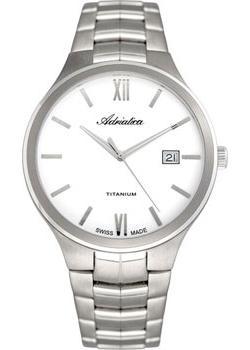 цена  Adriatica Часы Adriatica 8265.4163Q. Коллекция Titanium  онлайн в 2017 году