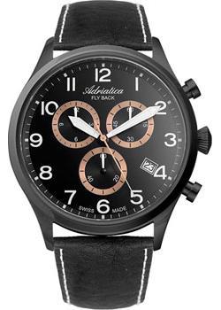 Adriatica Часы Adriatica 8267.B224CH. Коллекция Chronograph adriatica a3146 1213q