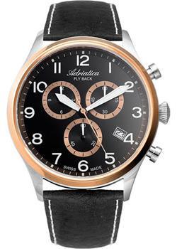 Adriatica Часы Adriatica 8267.R224CH. Коллекция Chronograph цена