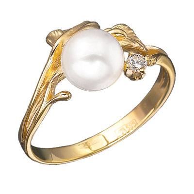 Золотое кольцо Ювелирное изделие K-11412