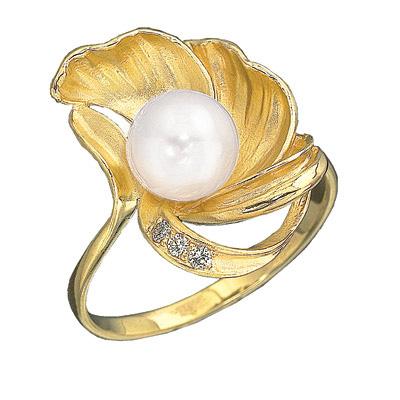 Золотое кольцо Ювелирное изделие K-11415