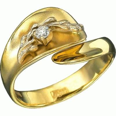 Золотое кольцо Ювелирное изделие K-14011