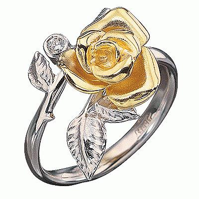 Золотое кольцо Ювелирное изделие K-14020