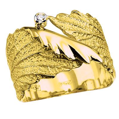 Золотое кольцо Ювелирное изделие K-14028