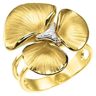 Золотое кольцо Ювелирное изделие K-14030